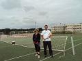 Treningi indywidualne gry w tenisa