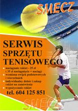 Serwis rakiet tenisowych